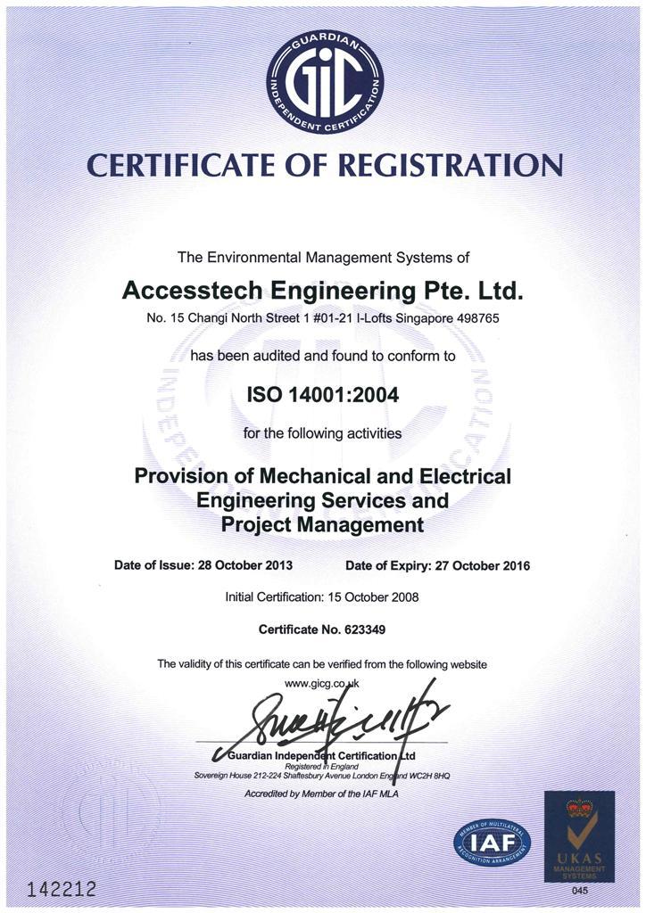 Awards Amp Accreditation Accesstech Engineering Pte Ltd